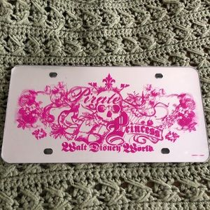 Other - Disney license plate